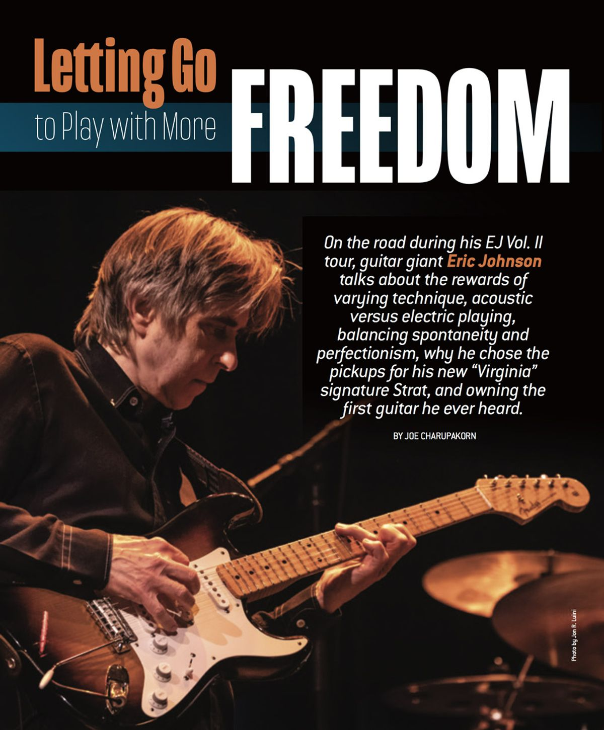 Eric Johnson on Breaking Patterns to Play with More Freedom