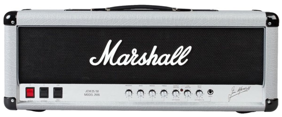 Marshall Reissues the Silver Jubilee 2555 Stack