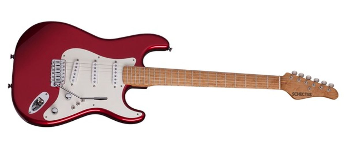 Schecter Guitars Debuts the Sultan, PT Series, and Trad Series