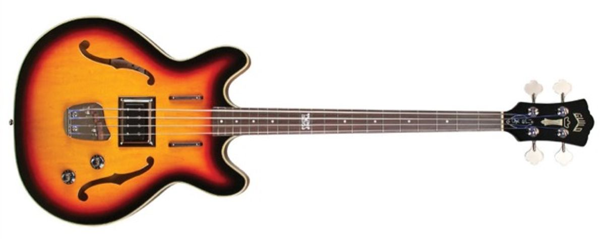 Guild Expands Bass Offerings with the Chris Hillman Byrd Bass and the Starfire Bass II