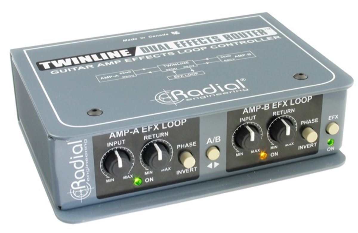 Radial Engineering Releases the Twinline Guitar Effects Router