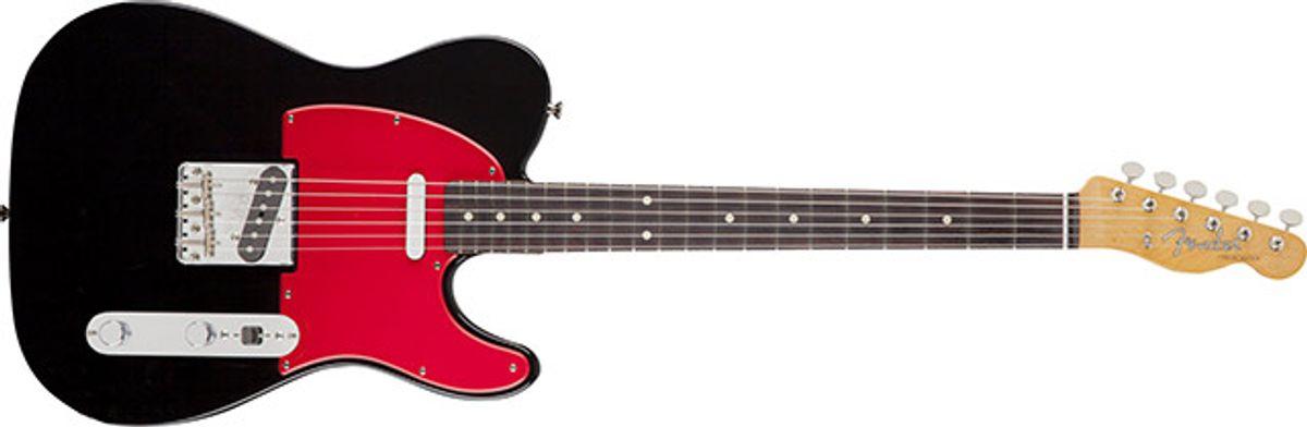 Fender Releases Europe-Exclusive Wilko Johnson Signature Tele
