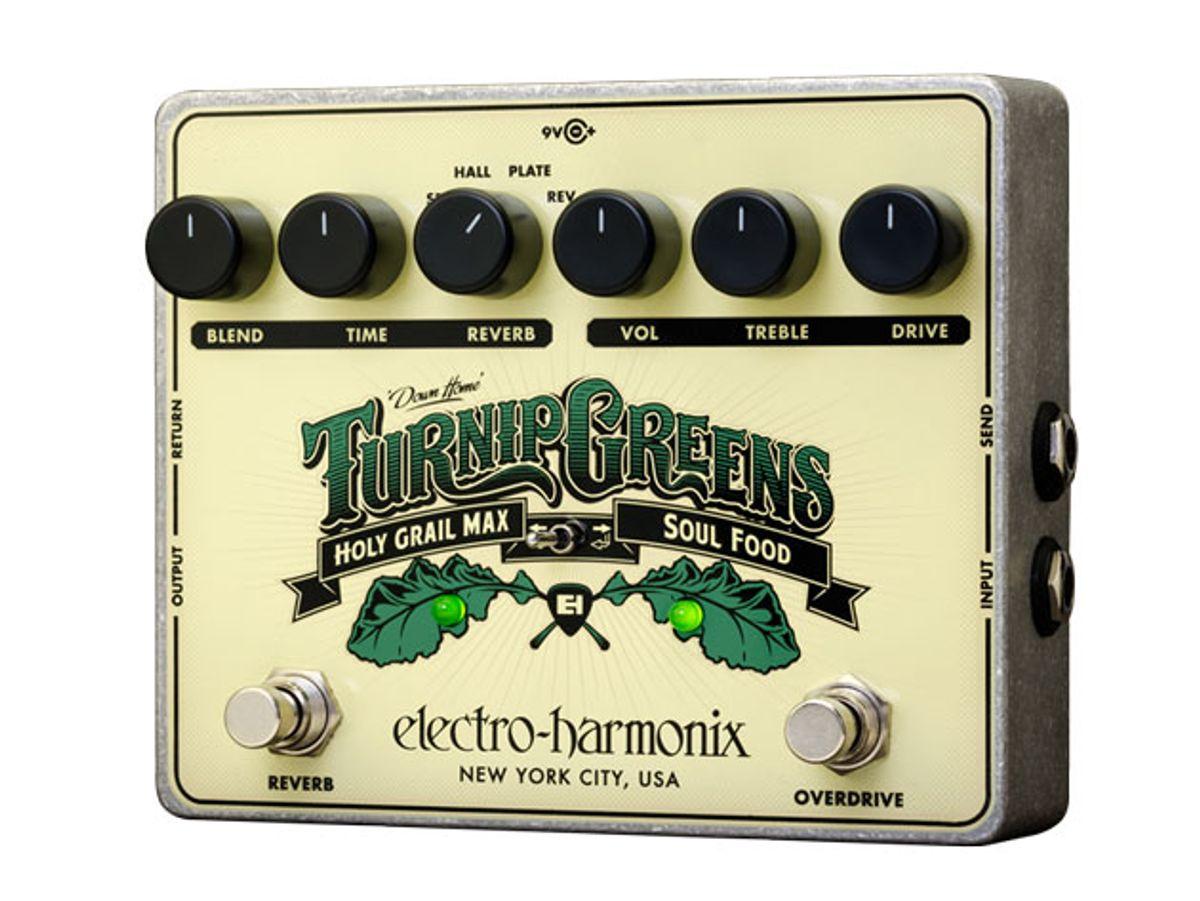 Electro-Harmonix Announces the Turnip Greens Multi-Effects Pedal