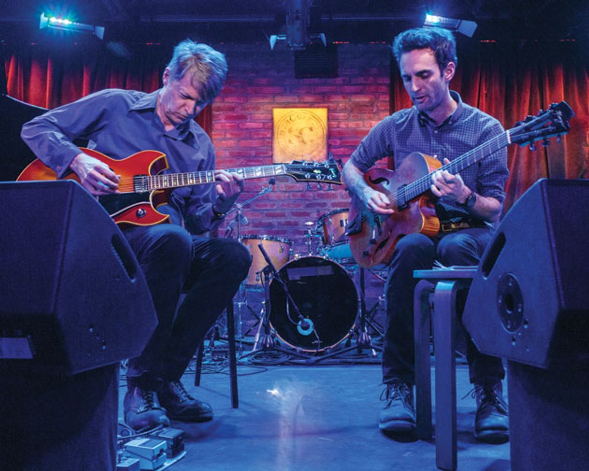 Nels Cline and Julian Lage: Gnarly Humanist and the Twenty-Something Terror