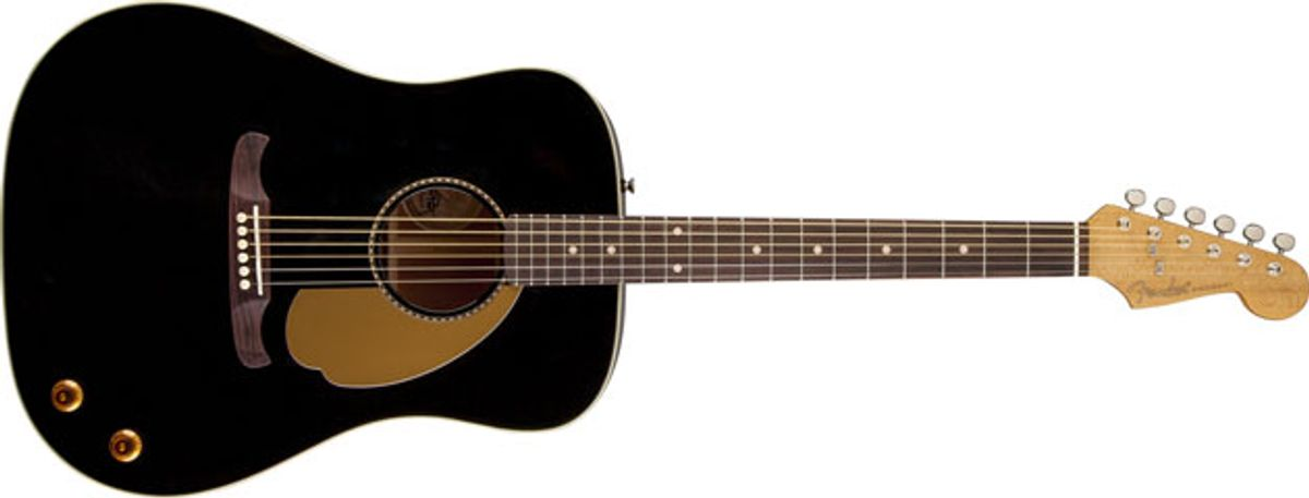 Fender Acoustic Custom Shop Releases Tom Petty Signature Kingman Dreadnought