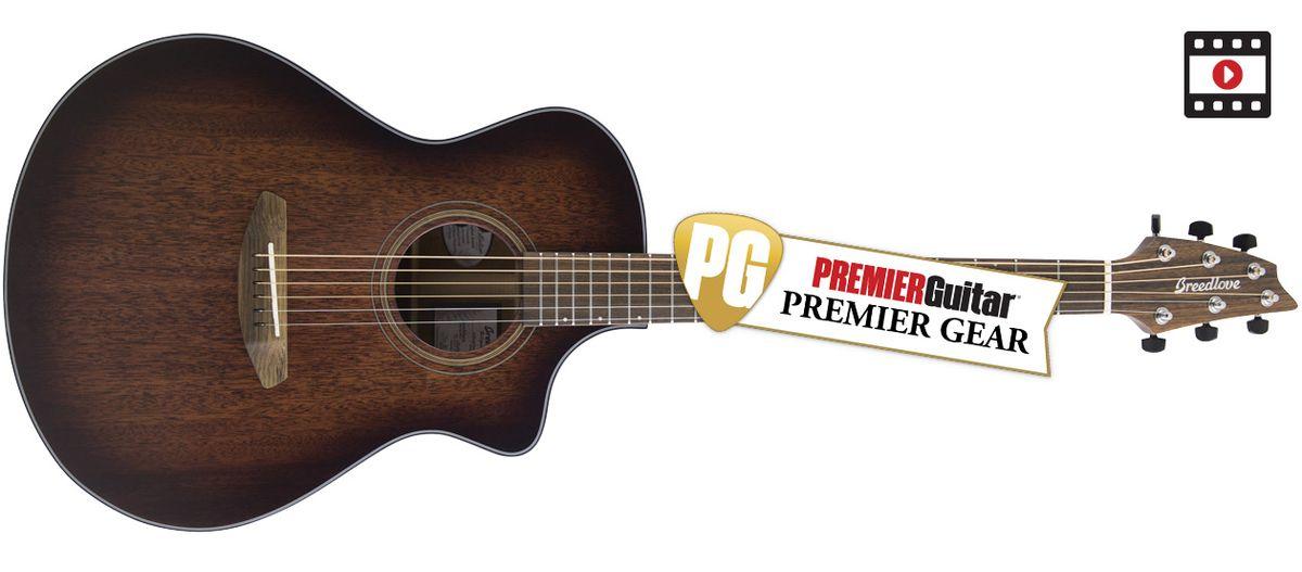 Breedlove Wildwood Concert Cutaway CE: The Premier Guitar Review