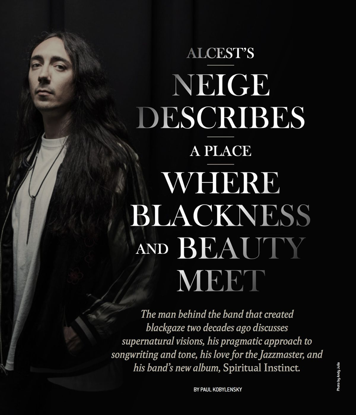 Alcest's Neige Describes a Place Where Blackness and Beauty Meet