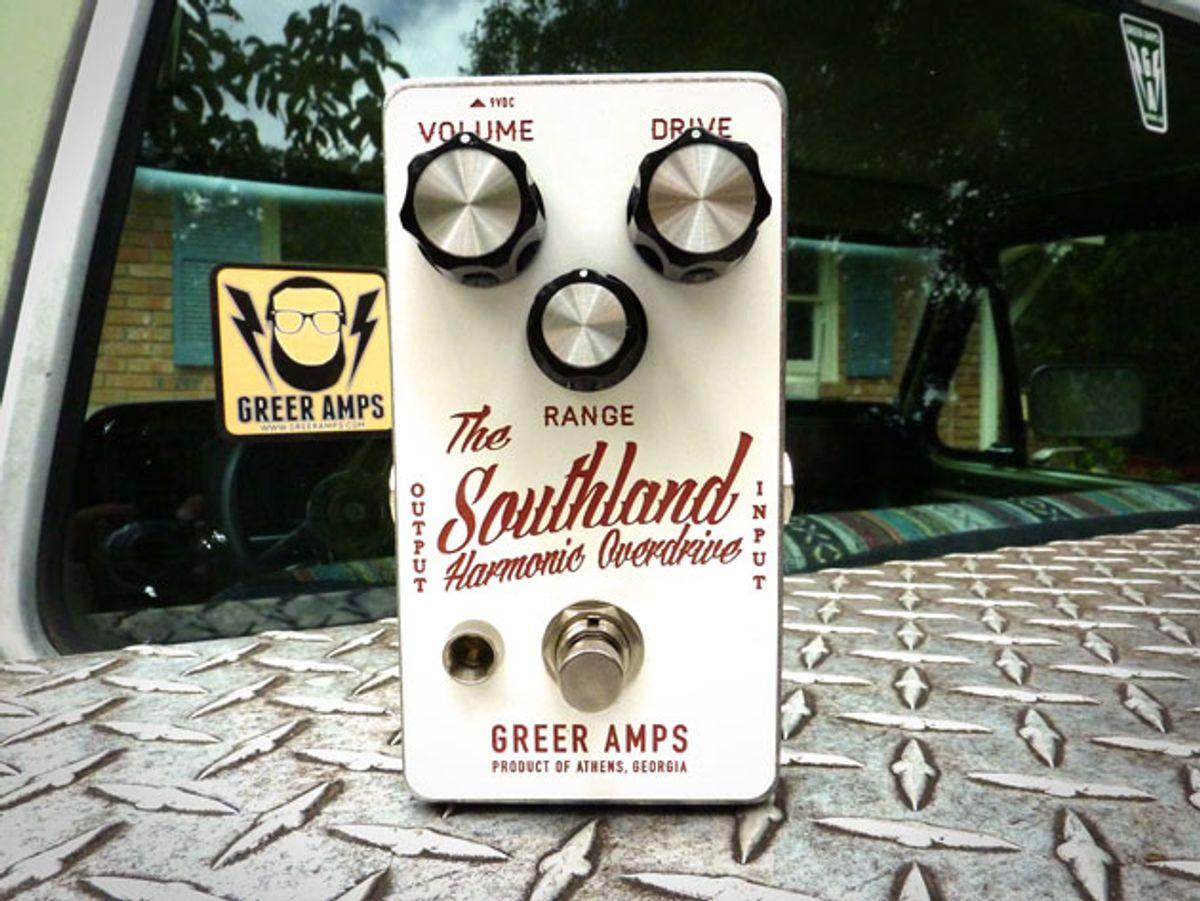 Greer Amps Introduces the Southland Harmonic Overdrive
