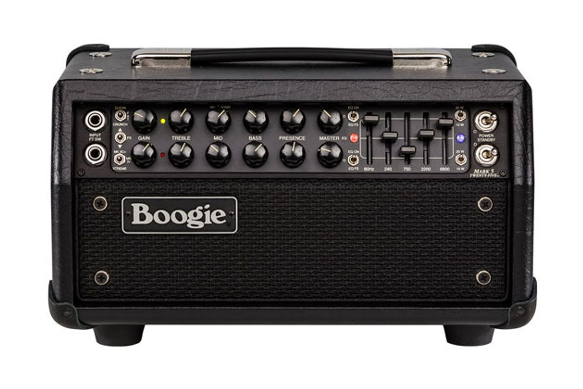 Mesa/Boogie Unveils the Mark Five: 25