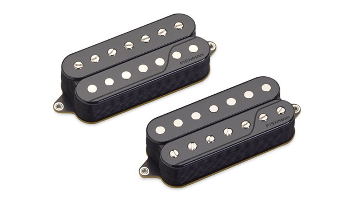 Fishman Introduces the Fluence Javier Reyes Signature 6-,7-, and 8-String Pickup Sets