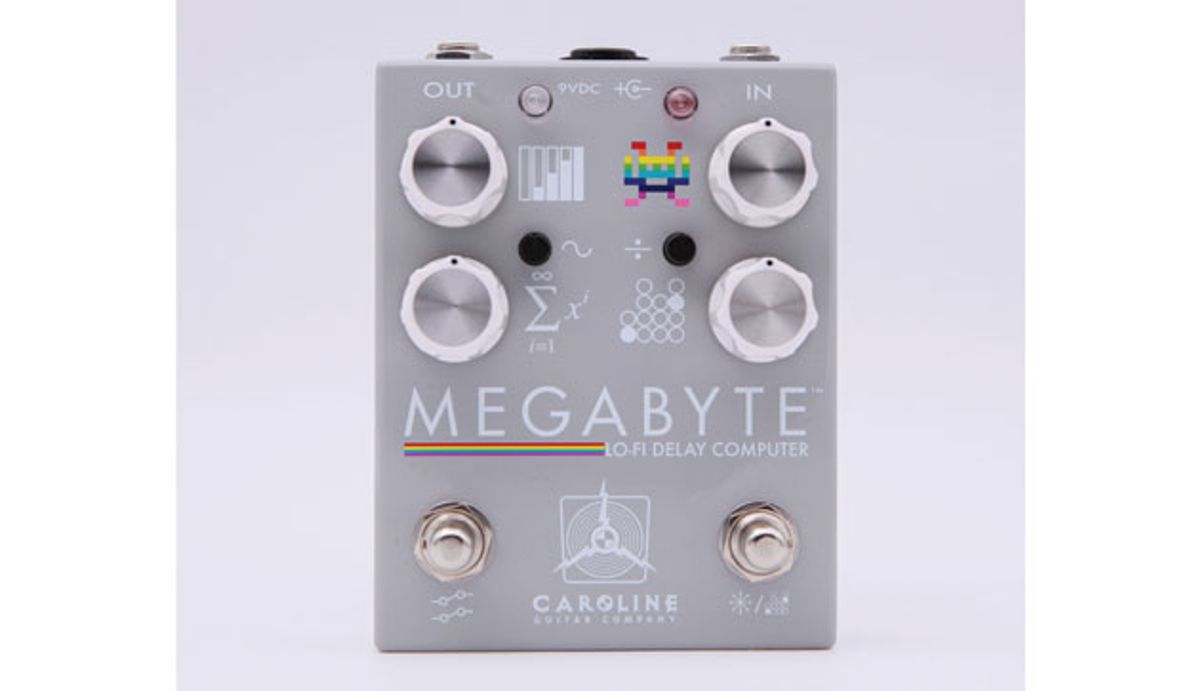 Caroline Guitar Company Releases the Megabyte Lo-Fi Delay