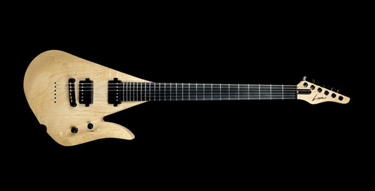 Lava Guitars Releases the Lava-Drop Model