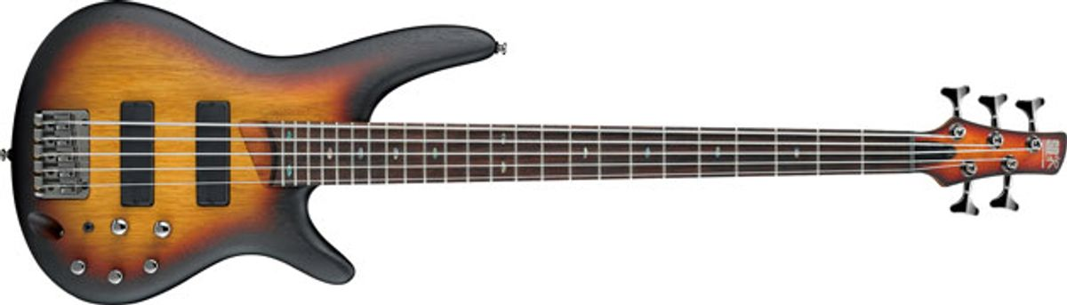 Ibanez Expands SR500 Bass Series