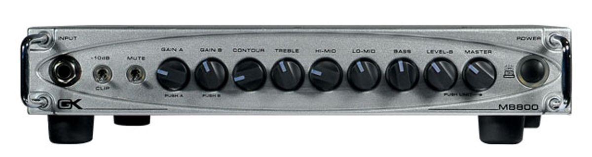 Gallien-Krueger MB800 Bass Amp Review