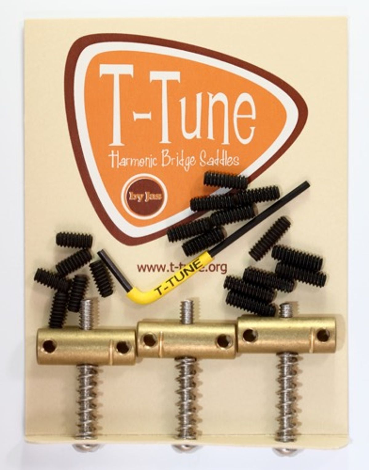 T-Tune Introduces Harmonic Bridge Saddles