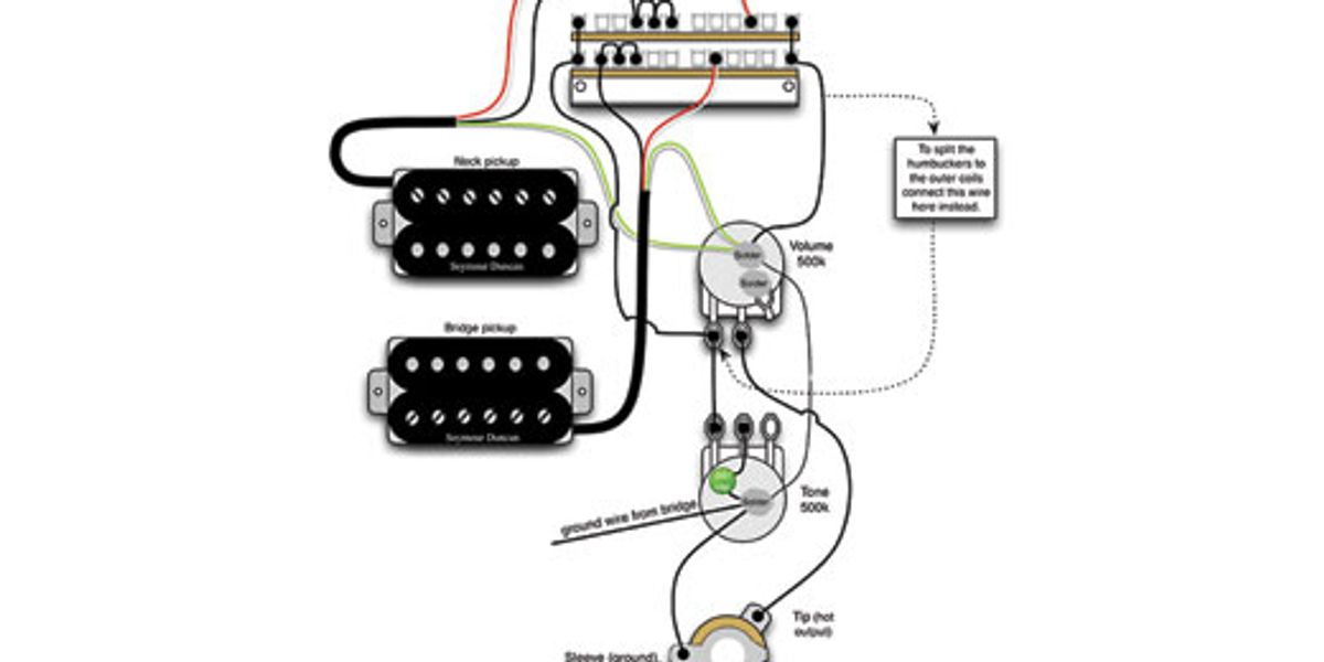Mod Garage: A Flexible Dual-Humbucker Wiring Scheme - Premier Guitar | The  best guitar and bass reviews, videos, and interviews on the web.Premier Guitar