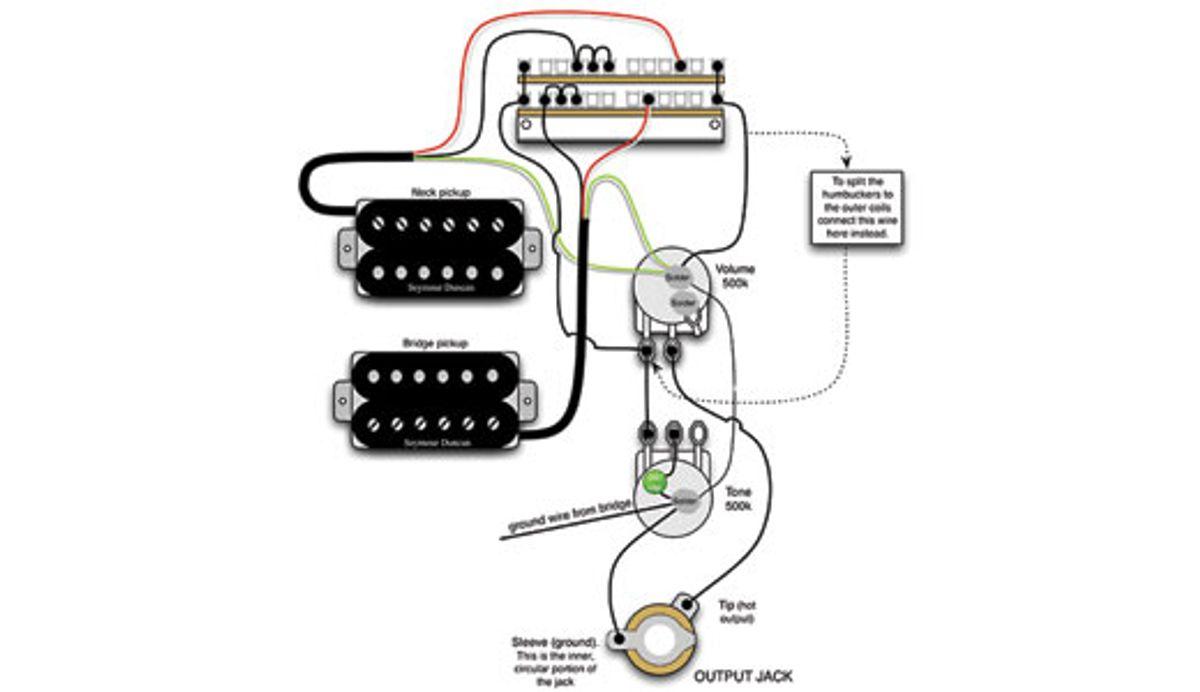 Mod Garage: A Flexible Dual-Humbucker Wiring Scheme
