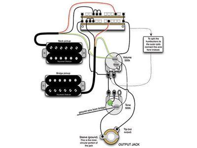 Mod Garage: A Flexible Dual-Humbucker Wiring Scheme - Premier Guitar | Guitar Wiring Diagram 2 Humbucker |  | Premier Guitar