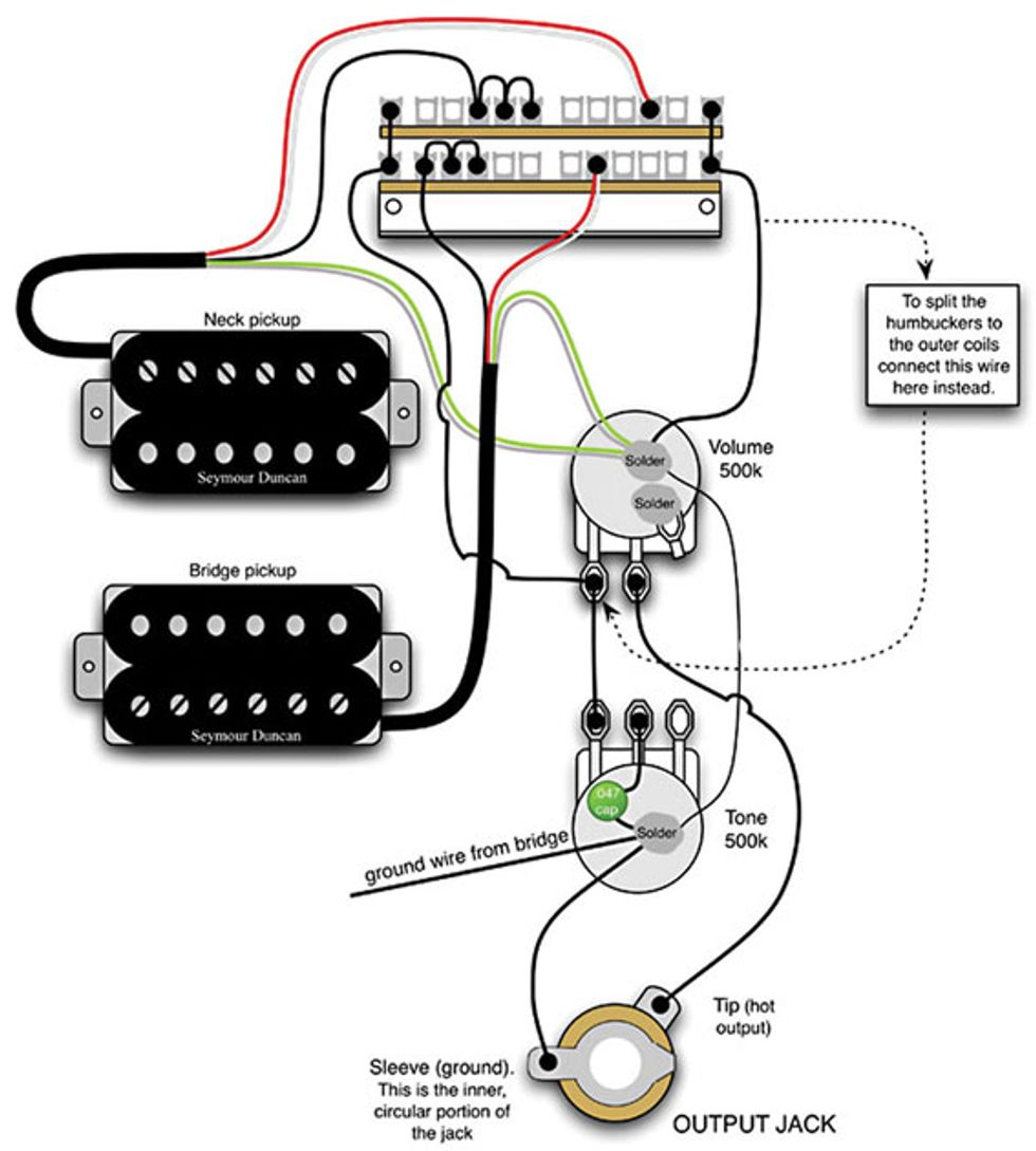 Nov15_PG_CLM_Mod Garage_image_WEB mod garage a flexible dual humbucker wiring scheme premier guitar telecaster wiring diagram humbucker single coil at crackthecode.co