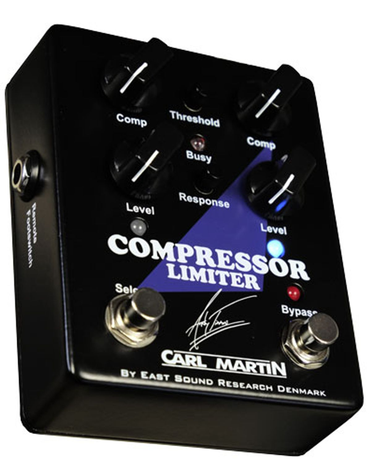 Carl Martin Announces the Andy Timmons Signature Compressor Limiter