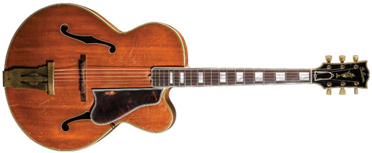 Vintage Vault: 1948 Gibson L-5 Premiere Natural