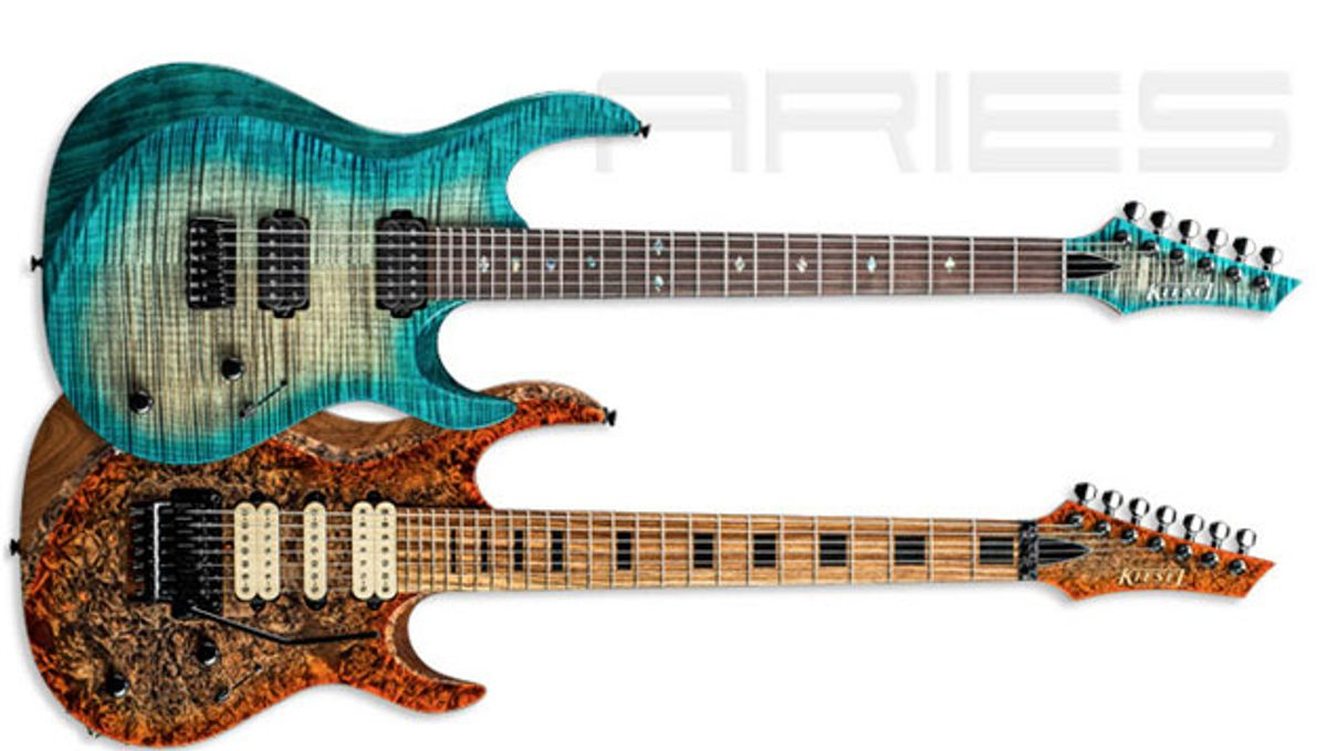 Kiesel Guitars Announces the Aries A6 and Aries A7