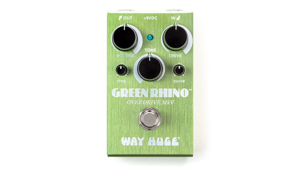 Way Huge Unveils the Smalls Green Rhino Overdrive MkV