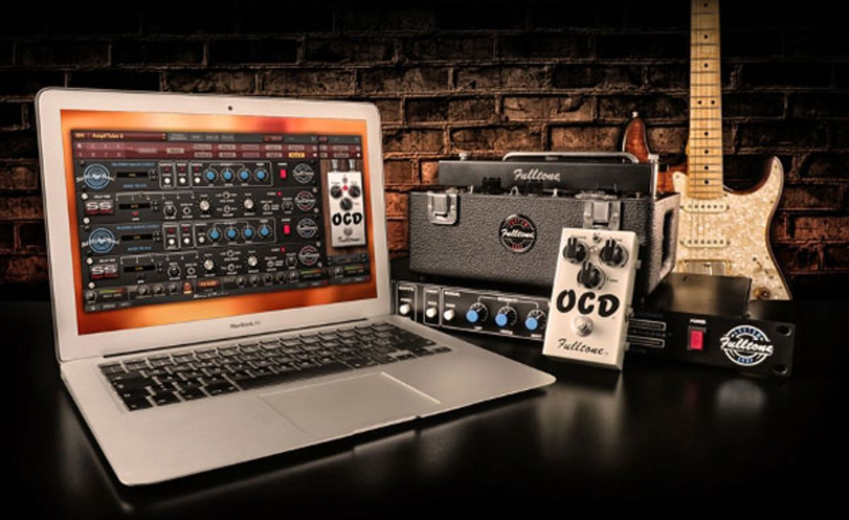IK Multimedia Introduces Fulltone Guitar & Bass Effects Collection for AmpliTube