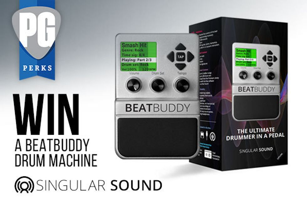PG Giveaways: Singular Sound BeatBuddy Drum Machine