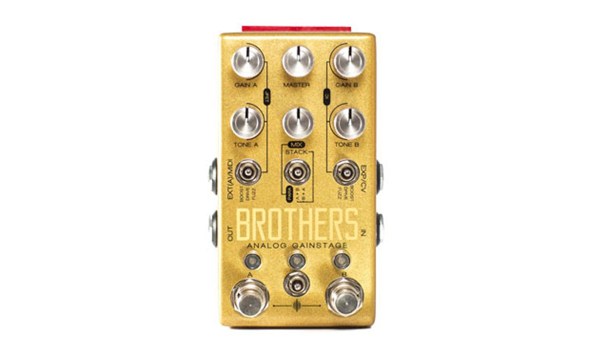 Chase Bliss Audio Releases the Brothers