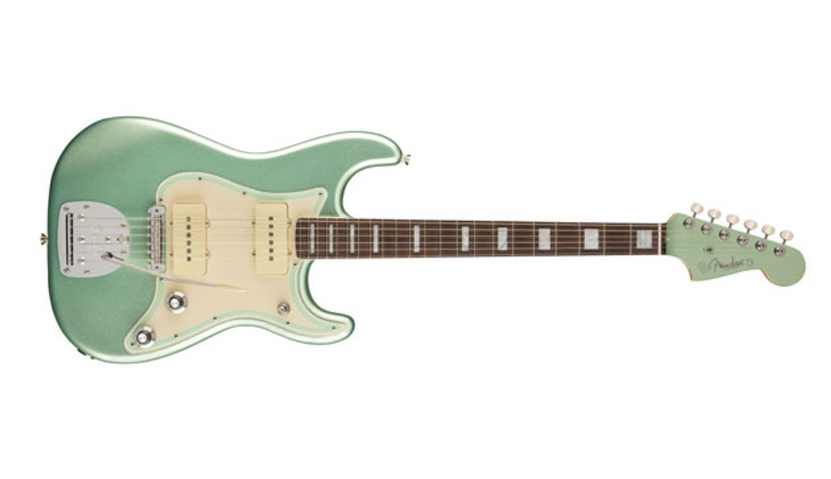 Fender Launches the Jazz Strat