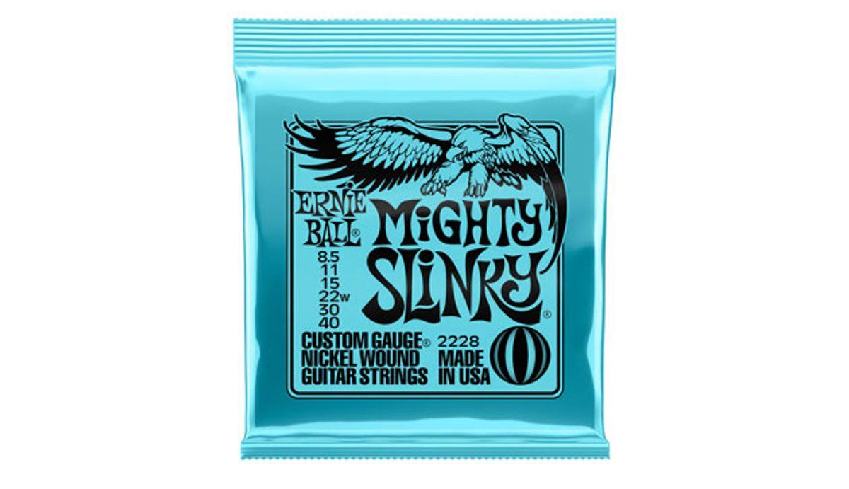 Ernie Ball Expands Slinky String Line