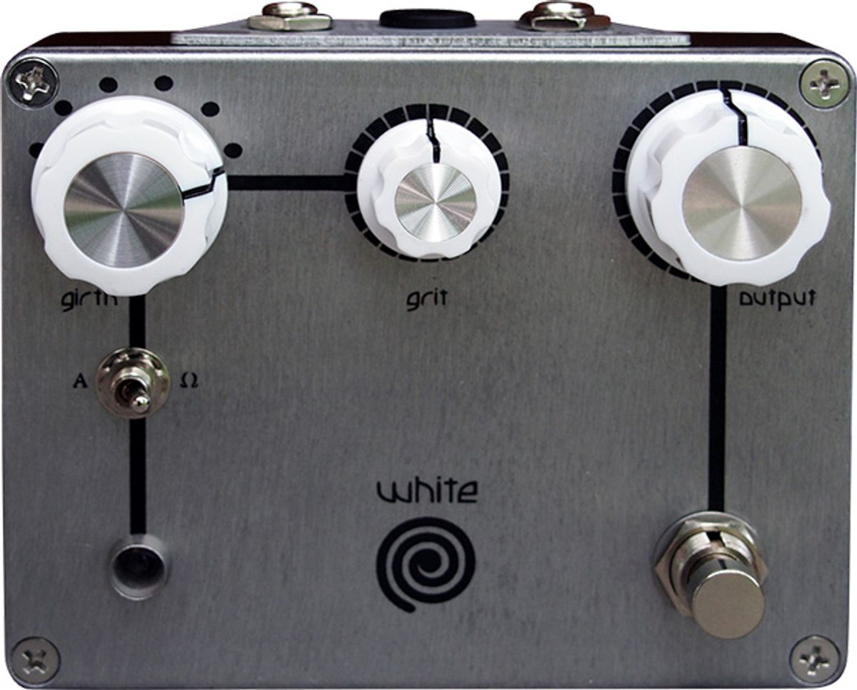 Spiral Electric FX Introduces the White Spiral Boost