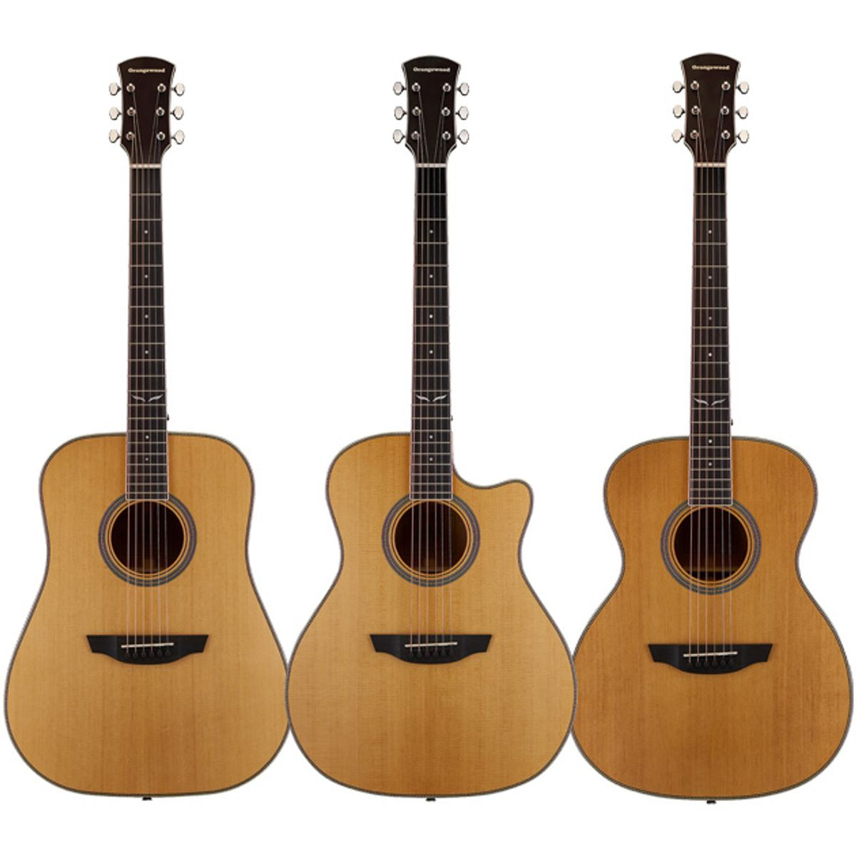 Orangewood Introduces First All-Solid Acoustic Guitars