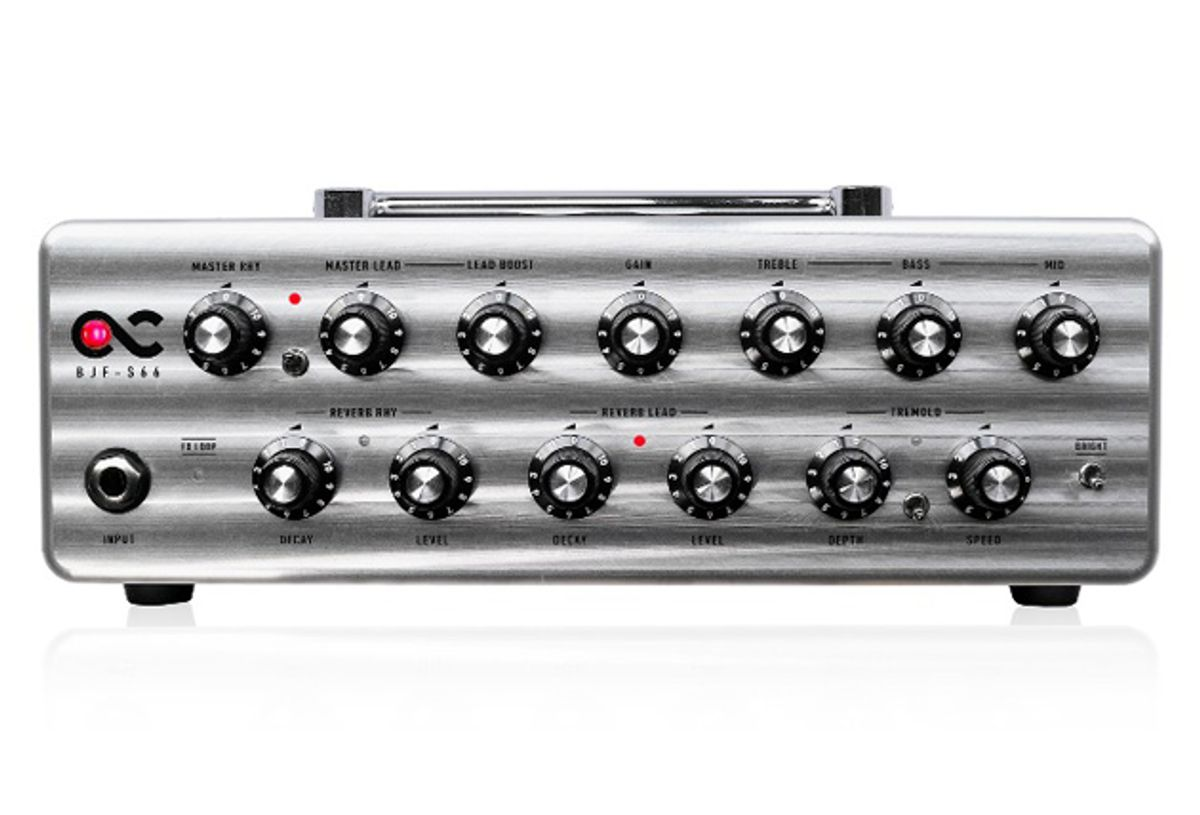 One Control Releases the BJF-S66 Compact Amp Head