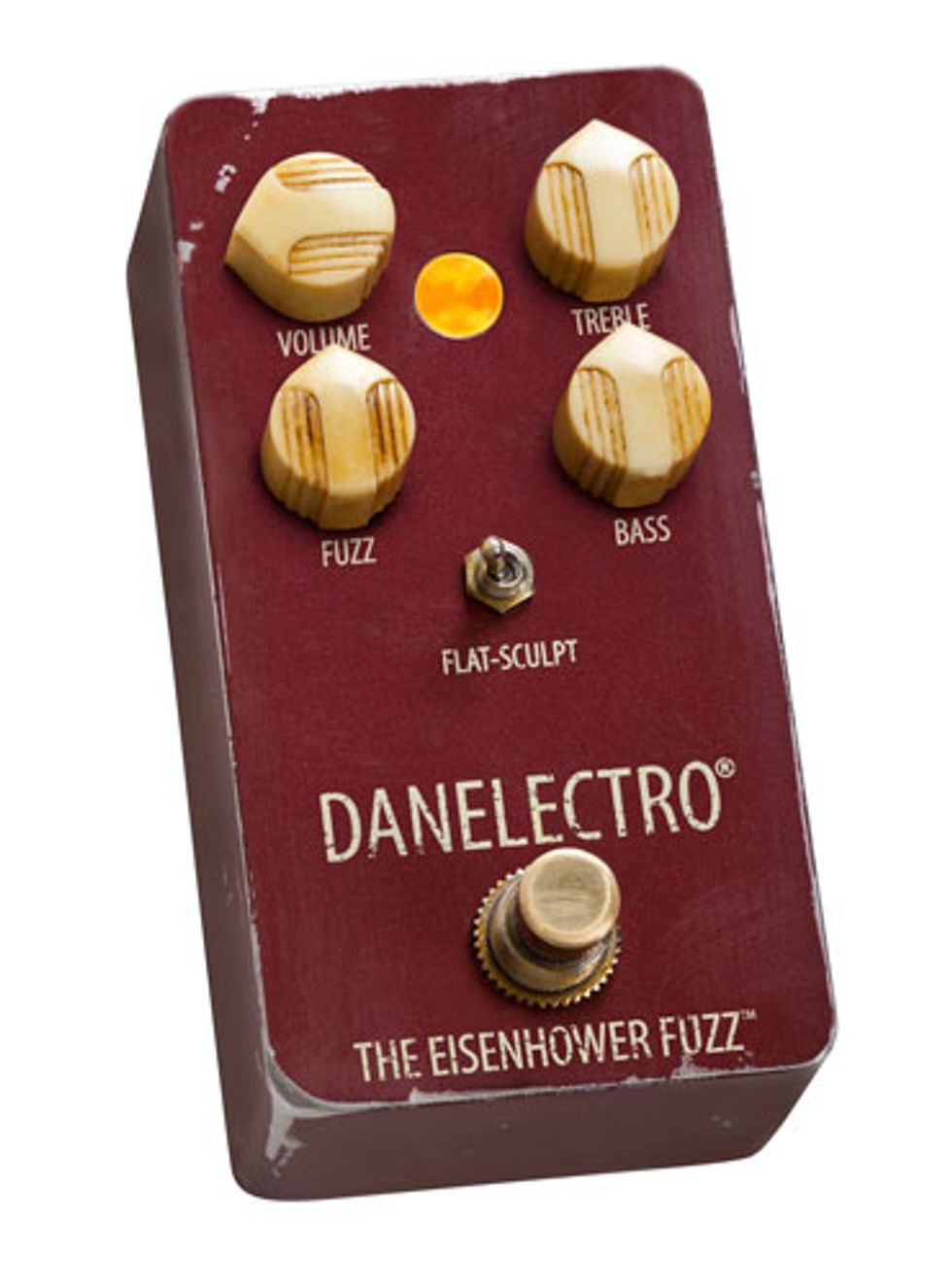 Danelectro Announces the Eisenhower Fuzz and the Breakdown