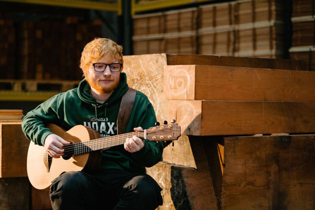 Ed Sheeran and Lowden Guitars Launch New Guitar Brand