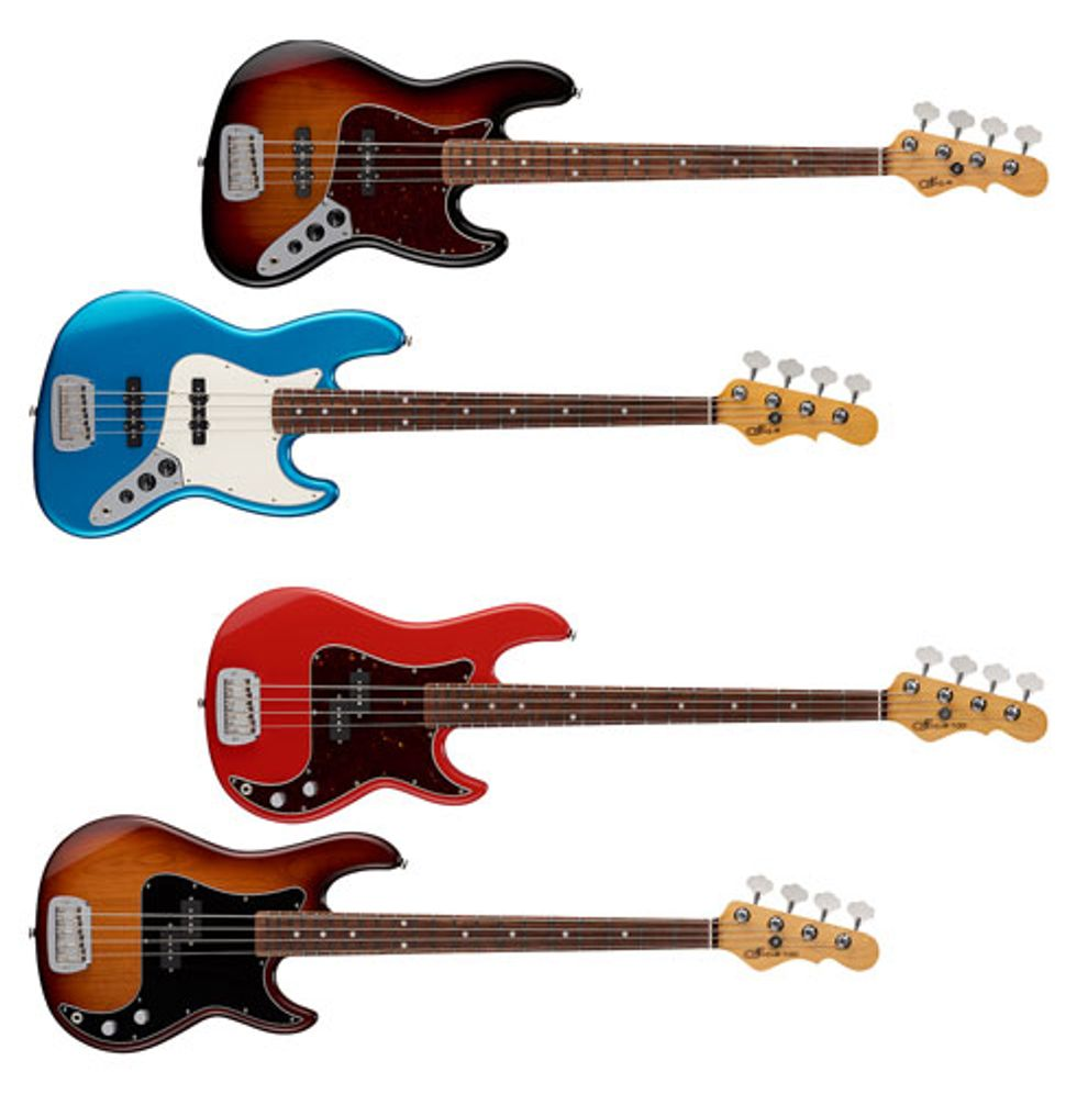G&L Guitars Expands the Fullerton Deluxe Series With Two New Basses