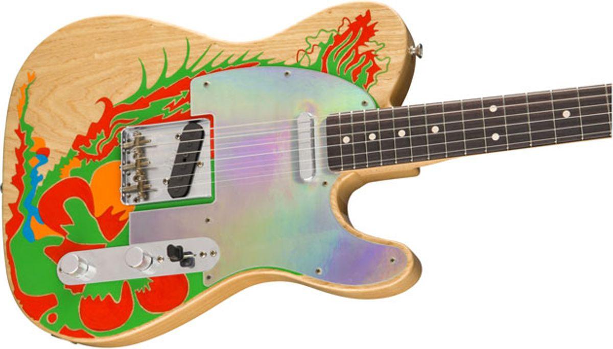 Fender Releases Details on Jimmy Page Telecaster Models