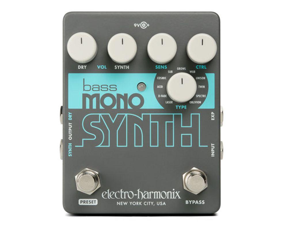 Electro-Harmonix Announces the Bass Mono Synth