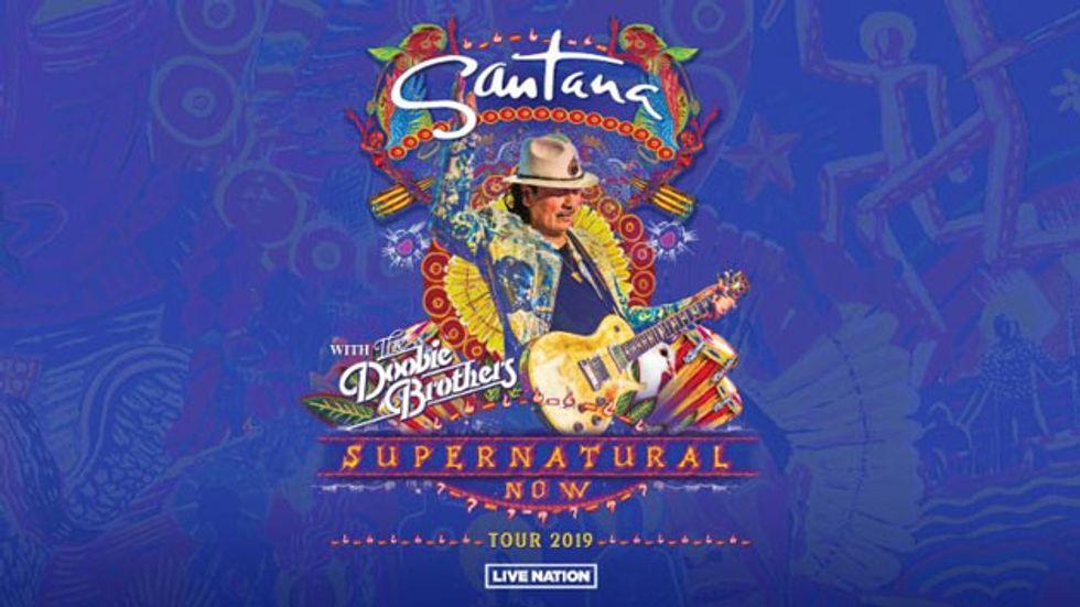 Santana Announces the 'Supernatural Now' Tour