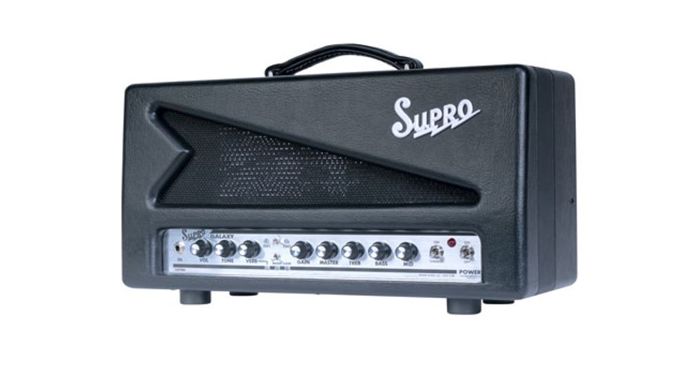 Supro Releases the Galaxy Head and Combo