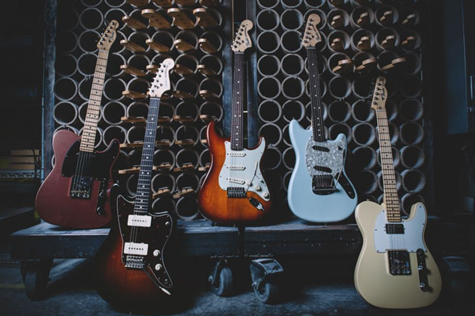 Fender Announces the American Performer Series and the Flea Jazz Bass Active