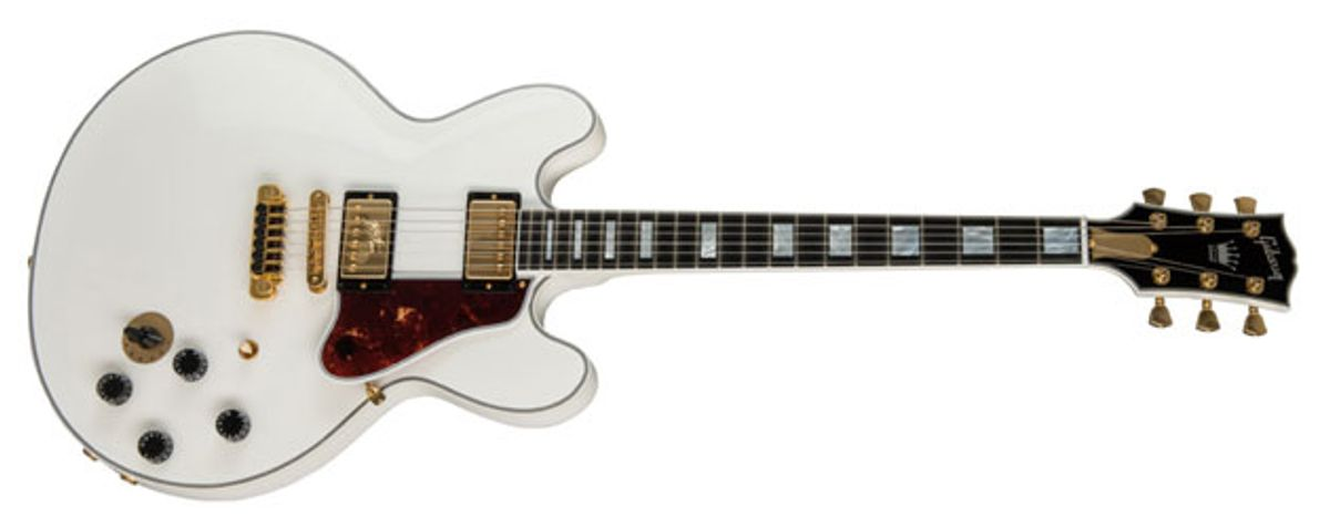 """Gibson Names B.B. King a """"Gibson Legacy Artist"""" and Releases Alpine White Limited-Edition """"Lucille"""" ES"""