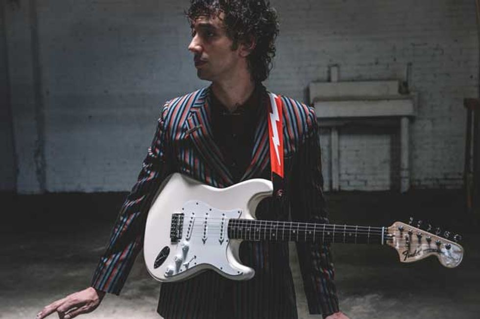 Fender Releases Albert Hammond Jr. Stratocaster