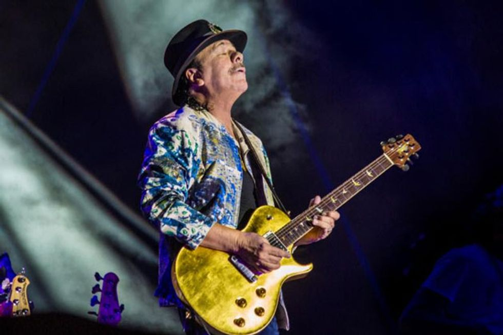 Santana Extends Las Vegas Residency and Announces 2019 Tour Dates