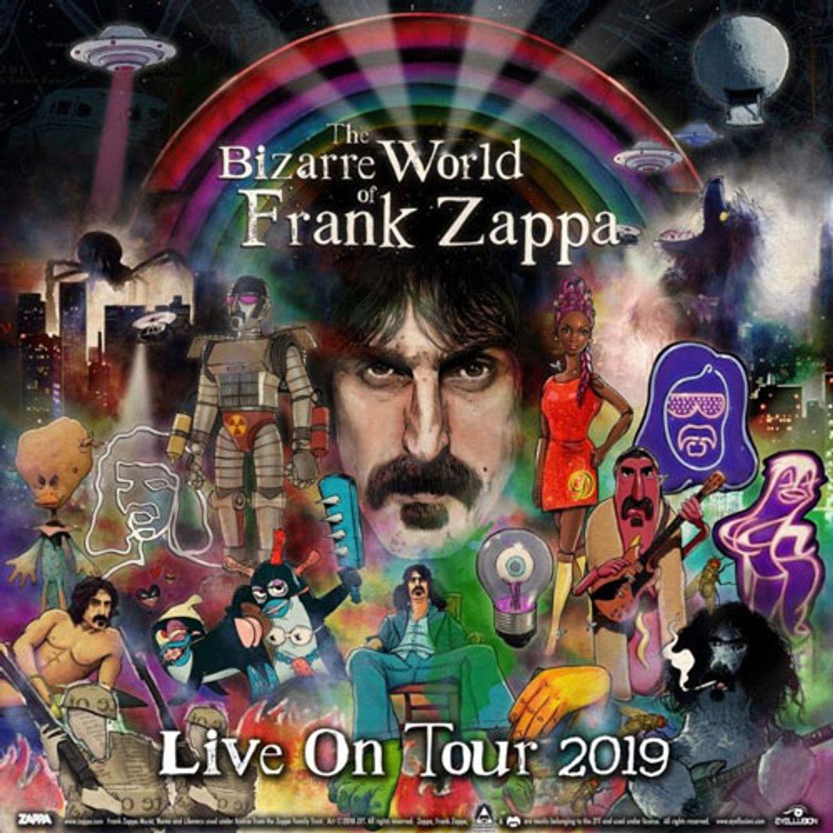 Zappa Family Trust Announces Frank Zappa Hologram Tour