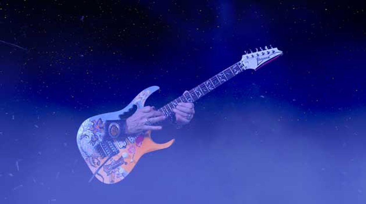 "Watch Steve Vai's Otherworldly Video for ""Dark Matter"""