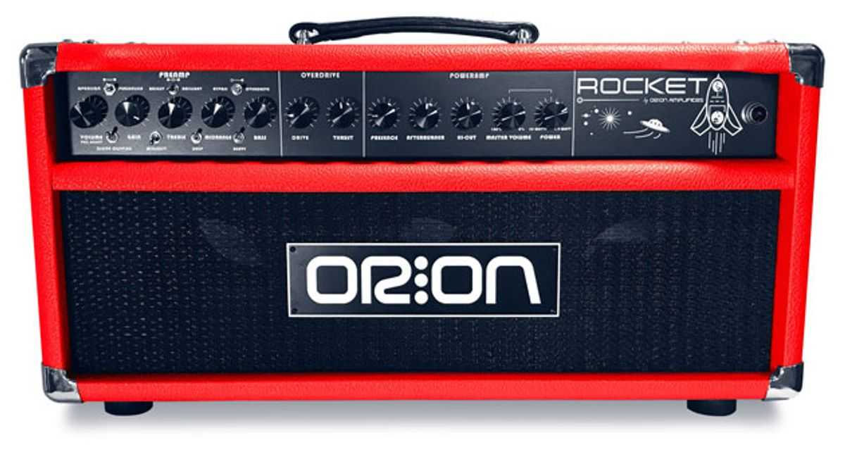 Orion Amplifiers Announces the HorseHead and Rocket Models