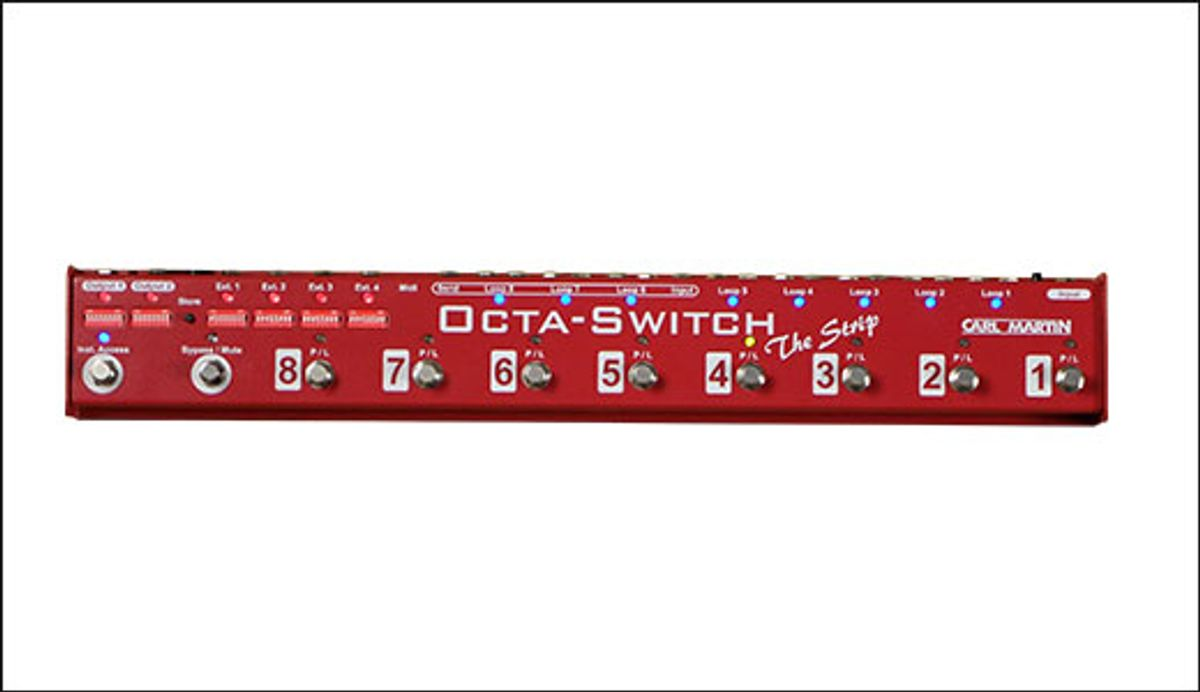 Carl Martin Introduces the Octaswitch Strip